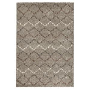 Hnědý koberec Mint Rugs Eternal, 120x170cm