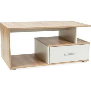 Casarredo Konferenční stolek SIA dub sonoma/bílá
