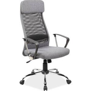 Casarredo Kancelářské křeslo Q-345 šedá