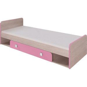 Casarredo DUO D9 postel 80x cm santana/růžová