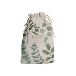 Cestovní vak s příměsí lnu Linen Couture Eucaliptus, délka 44 cm