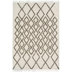 Béžovo-šedý koberec Asiatic Carpets Hackney Diamond, 120 x 170 cm