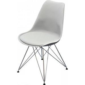 Idea Jídelní židle PITU šedá