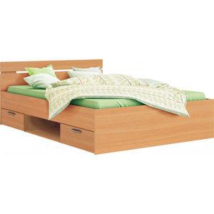 Idea Multifunkční postel  MICHIGAN buk