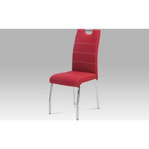 Autronic Jídelní židle HC-486 RED2