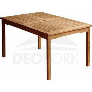 Deokork Zahradní stůl teak WINNER