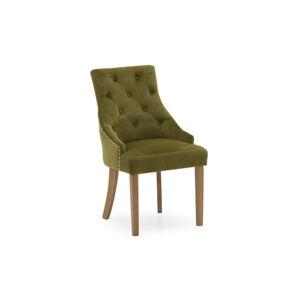 Sada 2 zelených jídelních židlí VIDA Living Hobbs