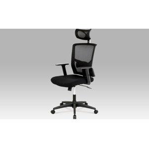 Autronic Kancelářská židle s podhlavníkem KA-B1013 BK