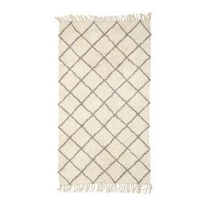 Bavlněný koberec Hübsch Paula, 150x90cm