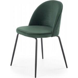 Halmar Jídelní židle K-314 - zelená