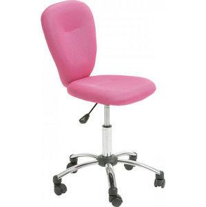 Idea Kancelářská židle MALI růžová