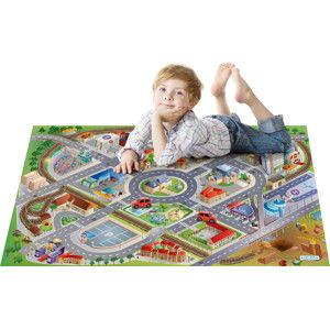 Forclaire Dětská hrací podložka Latex Město