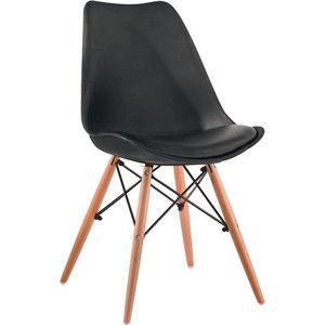 Tempo Kondela Jídelní židle KEMAL - Tmavě šedá / buk + kupón KONDELA10 na okamžitou slevu 3% (kupón uplatníte v košíku)