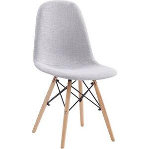 Tempo Kondela Jídelní židle DARELA NEW - světle šedá + kupón KONDELA10 na okamžitou slevu 3% (kupón uplatníte v košíku)