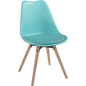 Tempo Kondela Jídelní židle Semer New - mentolová / buk + kupón KONDELA10 na okamžitou slevu 3% (kupón uplatníte v košíku)