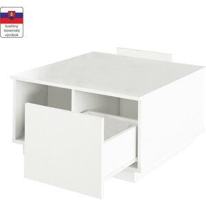 Tempo Kondela Konferenční stolek DALAN - bílá + kupón KONDELA10 na okamžitou slevu 3% (kupón uplatníte v košíku)