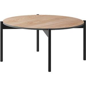 Tempo Kondela Konferenční stolek BERGEN BL, dub jaskson hickory/grafit + kupón KONDELA10 na okamžitou slevu 3% (kupón uplatníte v košíku)