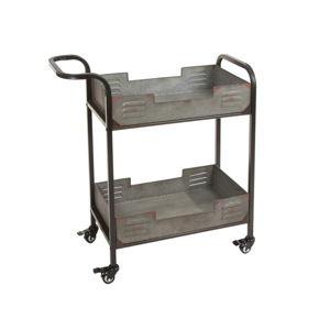 Pojízdný kovový servírovací stolek Santiago Pons Loft