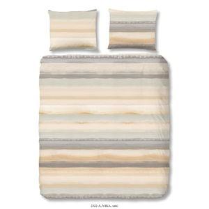 Bavlněné povlečení na jednolůžko Good Morning Sand, 140 x 200 cm
