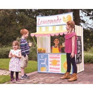 Forclaire Dětský hrací domeček Stánek s limonádou