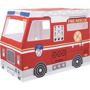 Forclaire Dětský hrací domeček Hasičské auto