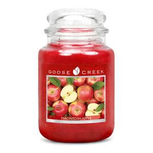 Vonná svíčka ve skleněné dóze Goose Creek Červené Jablko, 150 hodin hoření