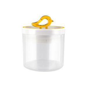 Žlutá dóza Vialli Design Livio, 400ml