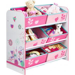 Forclaire Organizér na hračky Květiny a ptáci