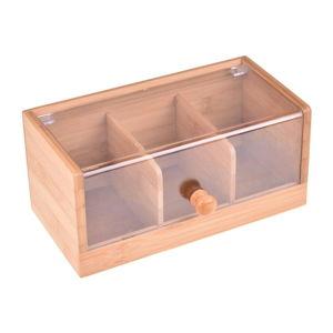 Bambusový úložný box Bambum Gio