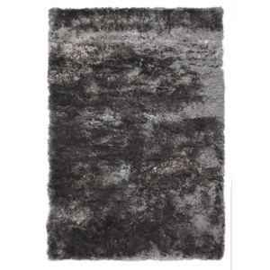 Šedý koberec Flair Rugs Serenity Silver, 80 x 150 cm