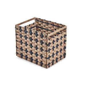 Hnědý košík La Forma Woody, 35 x 25 cm