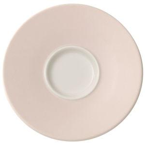 Porcelánový podšálek na espresso Villeroy & Boch Caffé Club Uni Pearl, 12 cm