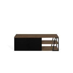 Černý TV stolek TemaHome Albi