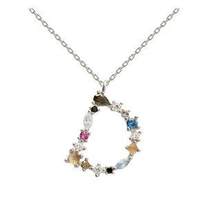 Stříbrný náhrdelník PD PAOLA Monogram D
