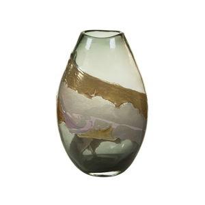 Ručně vyráběná křišťálová váza Santiago Pons Crystal, výška35cm