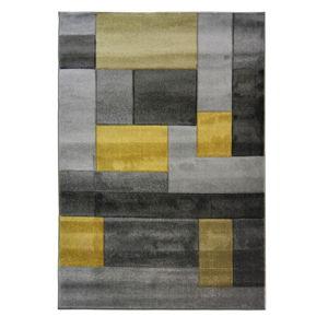 Koberec Flair Rugs Cosmos Grey Ochre, 80x150cm