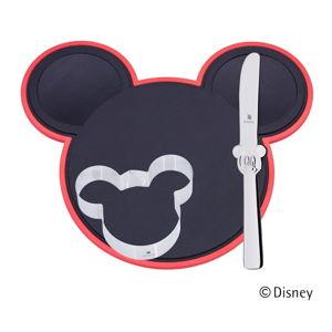 3dílný kreativní dětský jídelní set WMF Cromargan® Mickey Mouse