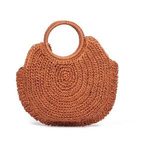 Oranžová dámská kabelka Nina Beratti Leandre Brique