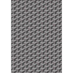 Šedý vzorovaný koberec Universal Nilo, 190 x 280 cm