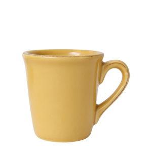 Žlutý kameninový hrnek na espresso Côté Table Const, 100ml