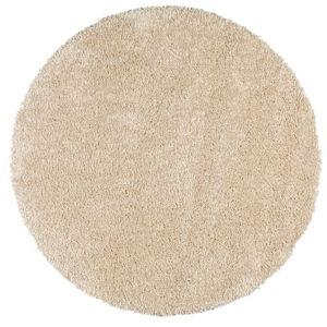 Bílý kulatý koberec Universal Aqua, ø80cm
