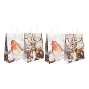 Sada 4 dárkových papírových tašek Esschert Design