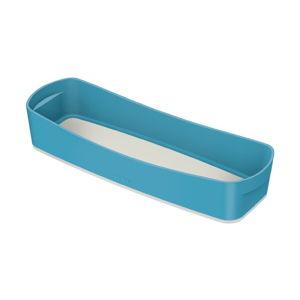 Modrý stolní box s organizérem Leitz Cosy