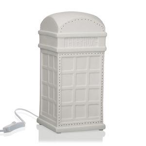 Stolní porcelánová lampa ve tvaru telefonní budky Versa