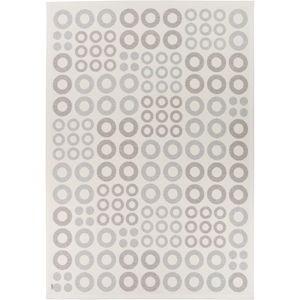 Bílý oboustranný koberec Narma Kupu White, 80 x 250 cm
