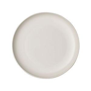 Bílý porcelánový talíř Villeroy & Boch Uni, ⌀ 24 cm