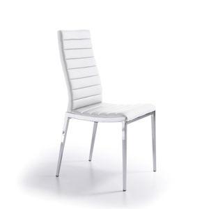 Bílá jídelní židle Ángel Cerdá Leticia