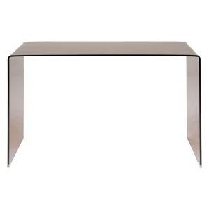 Skleněný pracovní stůl Kare Design Visible Amber, 125x60cm