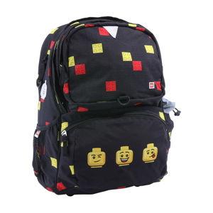Černá školní aktovka LEGO® Faces Freshmen