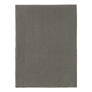 Zelený lněný běhoun na stůl Blomus, 140x45cm